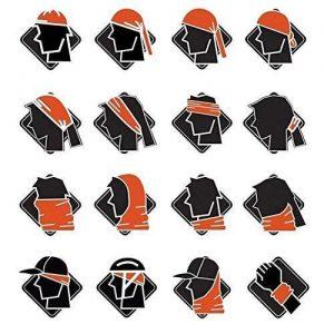 16 modalità di utilizzo della bandana con teschio