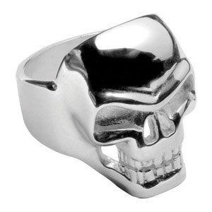 anello con teschio argento 1001 bijoux