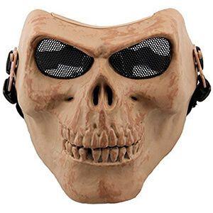 Maschera protettiva da teschio con fronte bassa