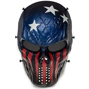 Maschera protettiva da teschio per Softair e Paintball