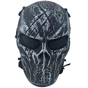 Maschera di protezione militare da teschio