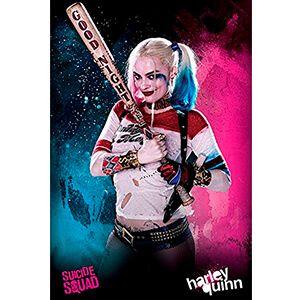 Poster del personaggio Harley Quinn di Suicide Squad