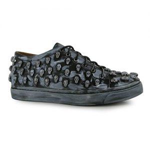 Sneakers con Teschi Colore Nero Stagno marca Jeffrey Campbell